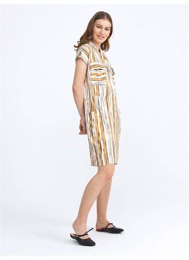 Xint Elbise Sarı
